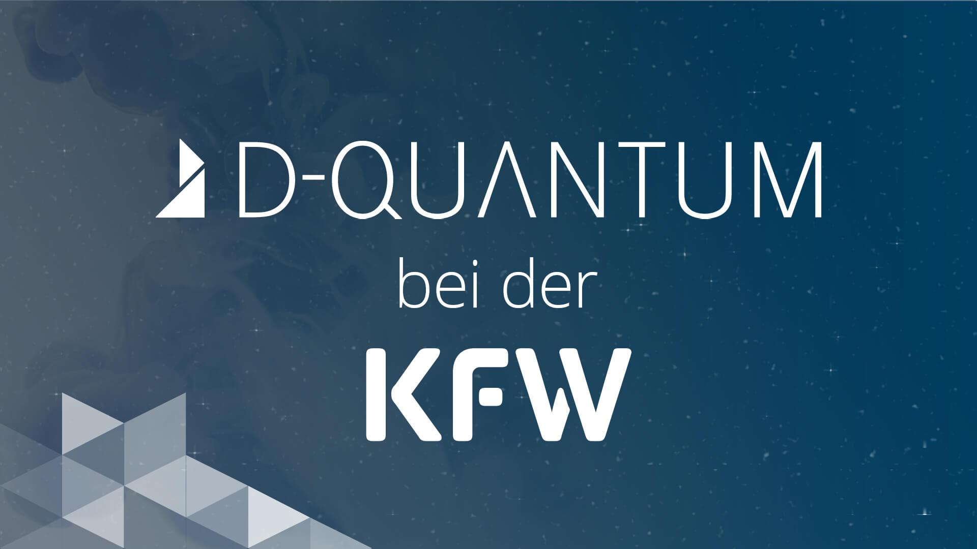 Titelbild D-QUANTUM bei der KfW
